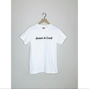 Jesus is Lord Shirt, 2-Sided, John 3:16 Verse
